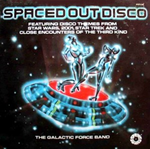 Spaced Out Disco CD front